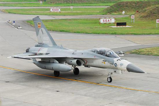 1503号IDF战机 图源:台媒