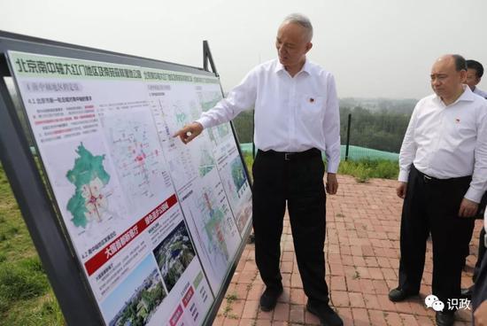 观察南苑森林湿地公园建立停顿