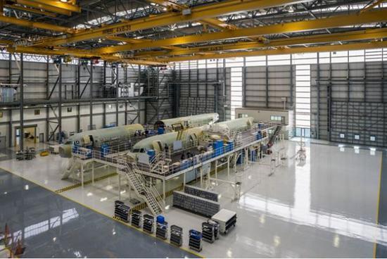 空客在美國的工廠(圖片來源:空客官網)
