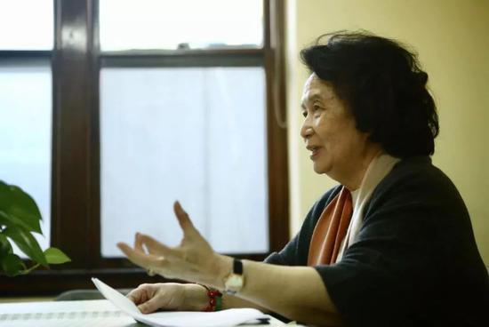 张振馨接受北青报记者专访