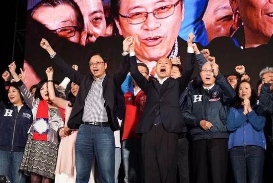 台湾学者:因为要活 所以挺韩国瑜图片