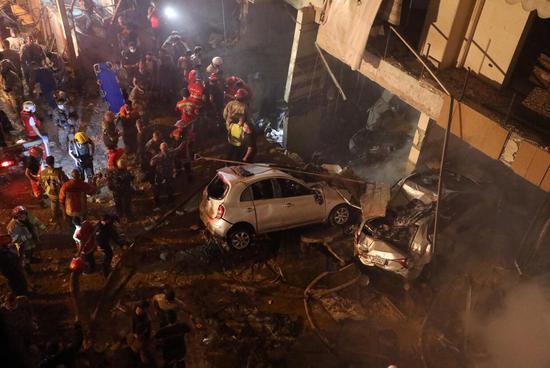 外媒:黎巴嫩首都贝鲁特发生爆炸 已致4死多伤