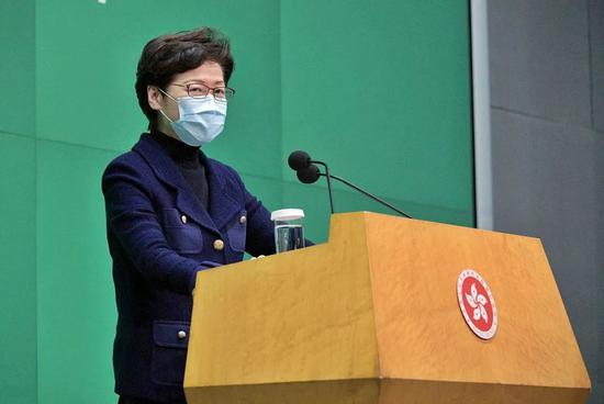 港媒:林郑月娥下周赴京3天商讨《施政报告》惠港政策图片