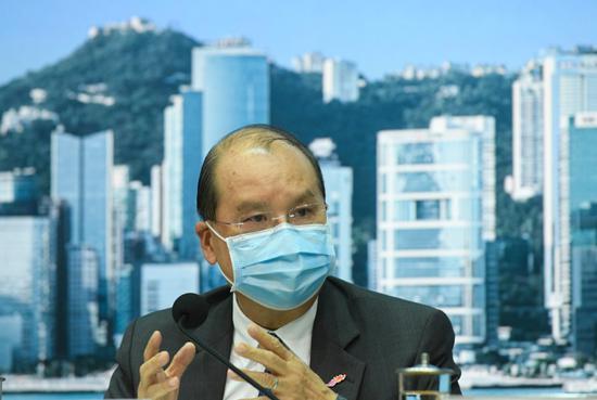 """港版""""火神山医院""""?张建宗:中央将助港兴建全新的临时医院图片"""