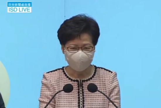 12名港人涉偷渡被拘,林郑月娥:须按内地法律处理