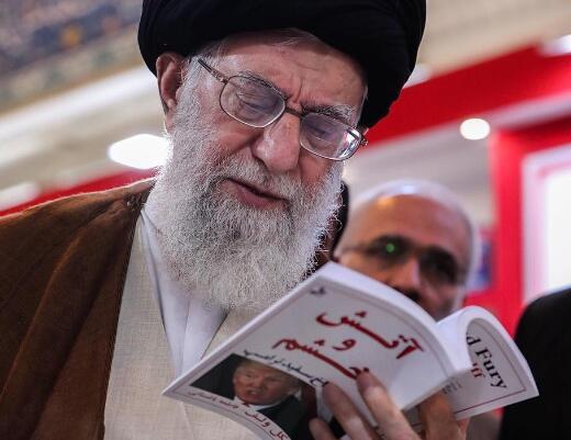 伊朗最高领袖哈梅内伊晒出的照片