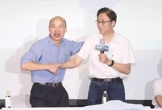 韩国瑜政策顾问团阵容曝光 张善政领军|韩国瑜