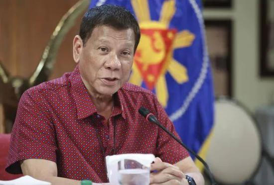 ▲资料图片:菲律宾总统杜特尔特(新华社)