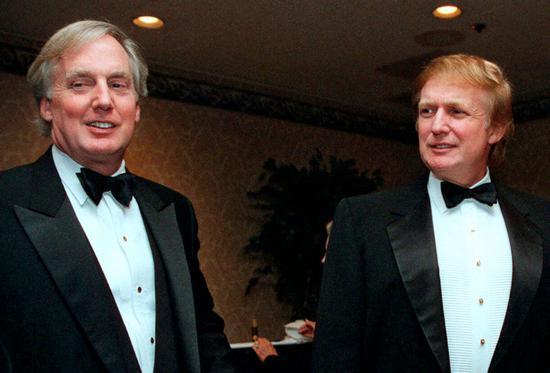 美媒:特朗普弟弟葬礼将在白宫举办 费用由总统承担