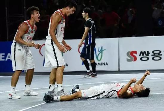 3v3篮球,来自中国的草根球队夺冠
