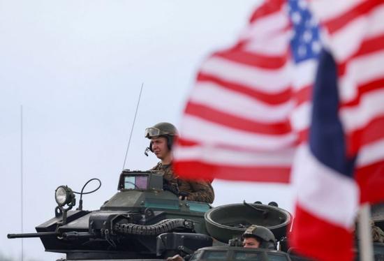 美军士兵在泰国参加演习(图源:路透社)