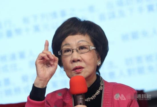 台当局疯狂军购 吕秀莲都看怕了:台湾恐成危险
