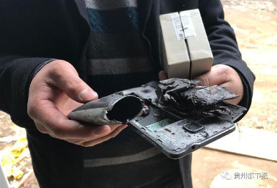 三星手机电池爆炸致5岁女孩伤残 家属索赔175万元