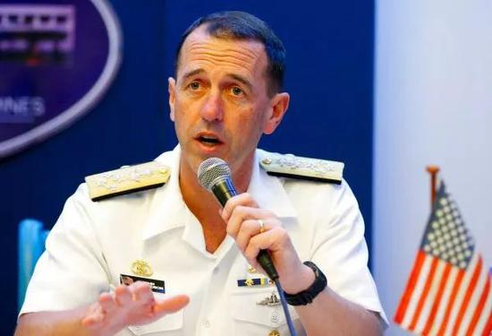 ▲美国海军作战部长理查森