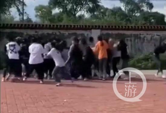 黑龙江30多名女学生街头约架斗殴,教育局副局长校长等12人被处分图片