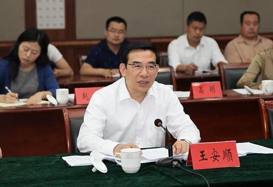 去年5月王安顺在河北省大名县