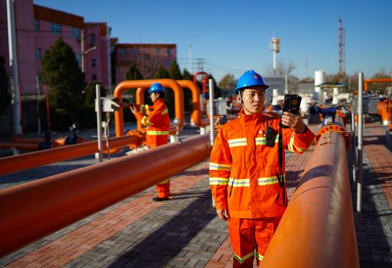 北京新建一座天然气门站,遇极端天气将立即投用图片