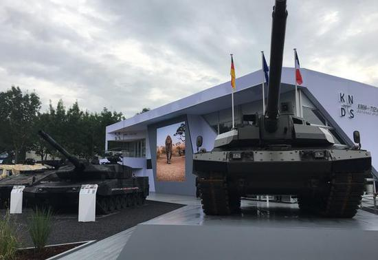 德法合研新型主战坦克:在豹2底盘上加装勒克莱炮塔