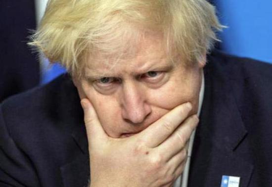 英国首相约翰逊。(图源:路透社)
