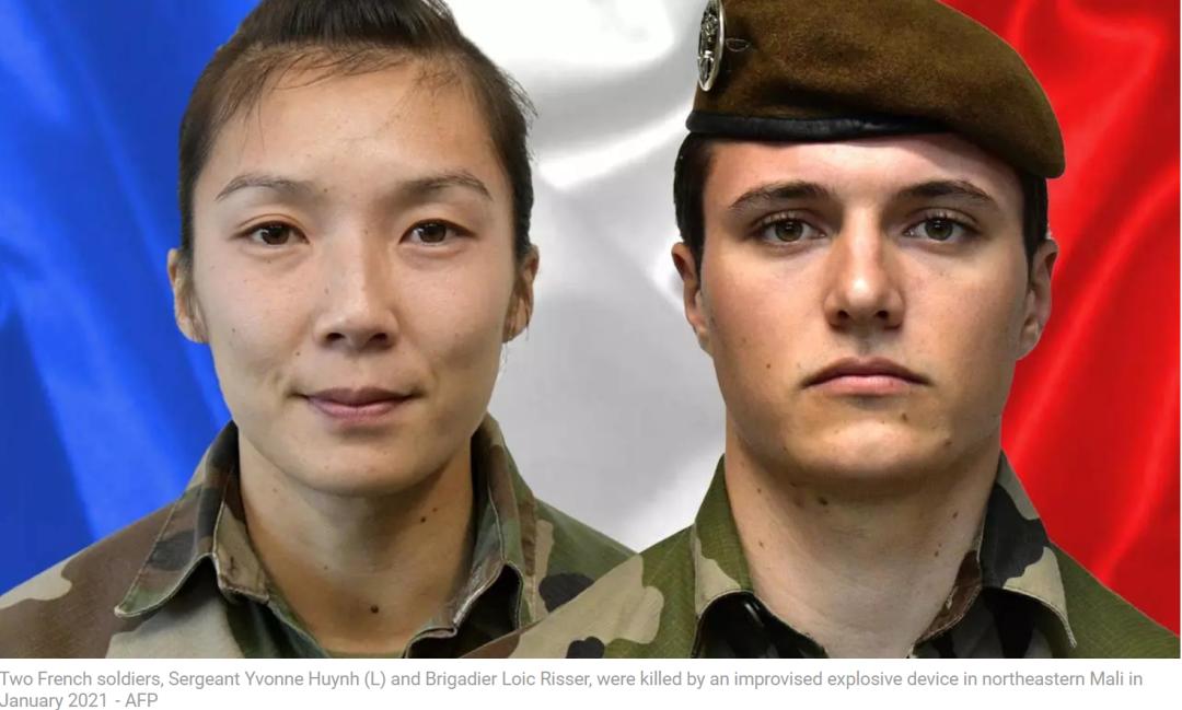 法军女兵在非洲遇袭身亡,惊动马克龙