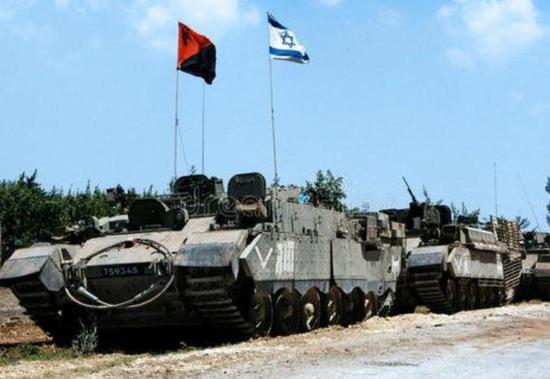 ▲1982年,以色列攻入黎巴嫩,第五次中东战争爆发