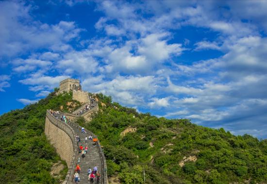 因特大暴雨 北京八达岭长城8月12日将停业一天