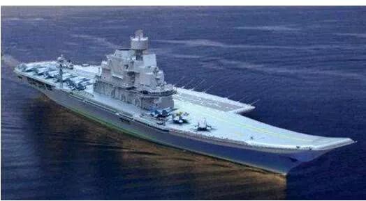 """▲ 印度从俄罗斯""""获赠""""的二手航母,但在改装费用被狠宰。"""