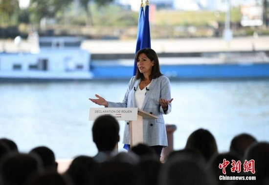 高调宣布竞选下届法国总统 巴黎市长胜算几何?
