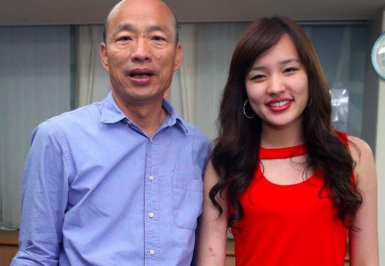 女儿为何没助选?韩国瑜:怕民进党抹黑她怀孕