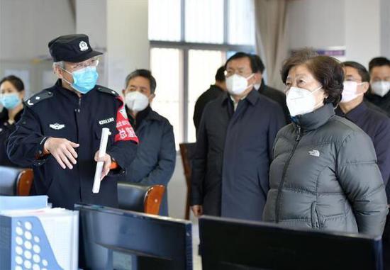 恩佐2:组现场指导督导监狱恩佐2和社会福利院疫情防图片