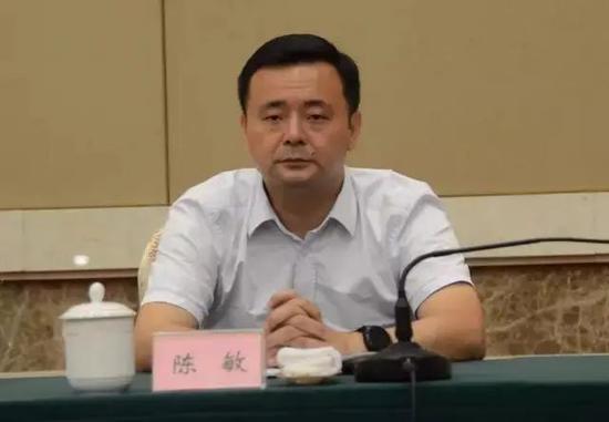 江西省委统战部常务副部长陈敏转任鹰潭代市长图片