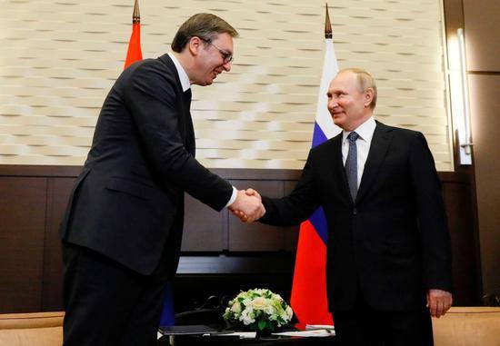 普京就俄罗斯外交部发言人不当言论向武契奇道歉