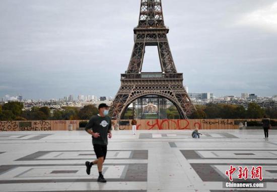 法国单日新增确诊病例达5.8万 累计确诊病例超160万