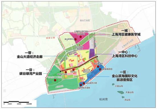"""占地8.1平方公里,上海金山打造""""爱的港湾""""旅游度假区图片"""