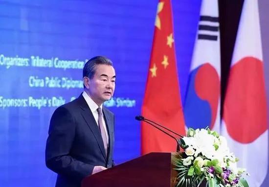 王毅访问日韩,关键的一步图片