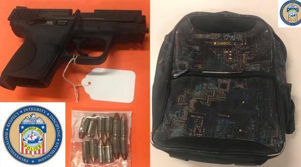 视频-枪支太泛滥!美国6岁小学生带上膛手枪上学:看看我的书包里有什么