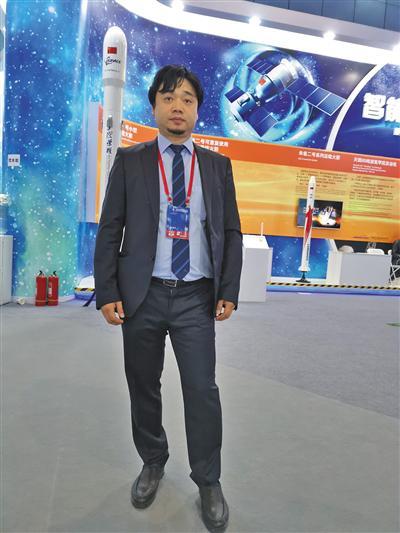 中关村创蓝清洁空气产业联盟主任解洪兴 新京报记者 李玉坤 摄