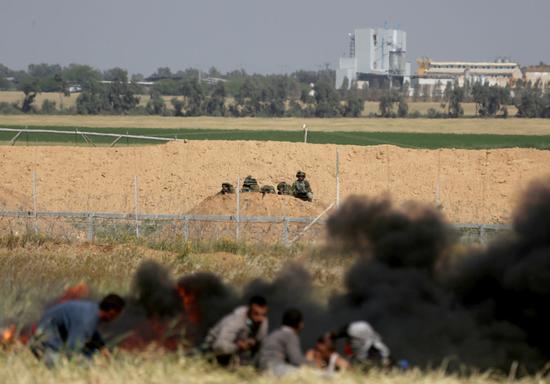3月31日的加沙地带(《耶路撒冷邮报》4月5日报道配图)