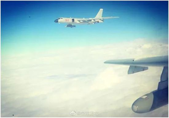 大陆军机连续两日绕台巡航 台媒急了图片