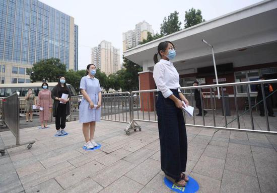 北京高摩天登录考考点布置完,摩天登录图片