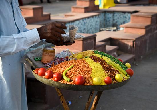 印度街头美食。图|图虫创意