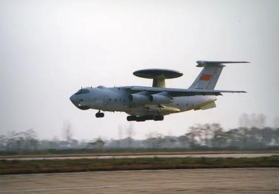△一飞院研制的空警2000飞机(图来自陕西省工信厅)