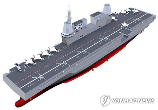 """韩国也要造航母 号称能""""应对四面八方威胁"""""""
