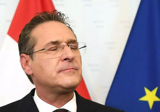 奧地利副總理施特拉赫 /視覺中國
