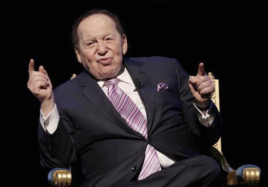 """美国""""赌王""""阿德尔森去世 曾为共和党捐款4亿多美元"""