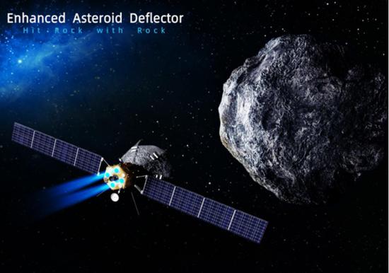 以石击石!中科院提出防御行星撞地球新方案图片