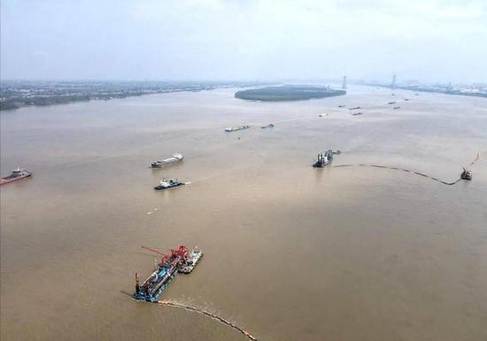 水利部:长江干流岸线利用项目清理整治完成率达98.9%图片