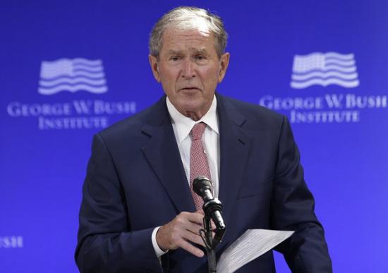 美国前总统小布什将出席拜登就职典礼