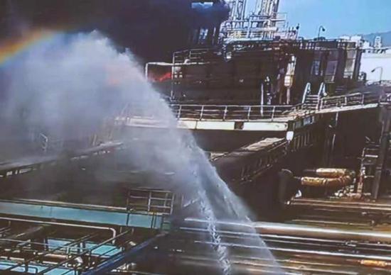 珠海一化工厂爆炸:暂无人员伤亡 明火已扑灭图片