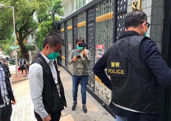 港媒:李柱铭、李卓人等至少九人被捕 涉三次非法集结图片
